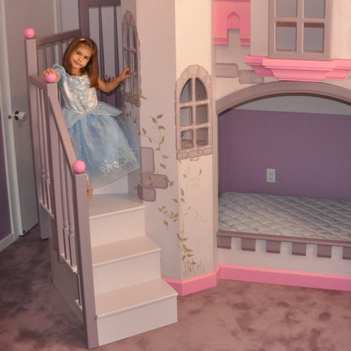 Baby Furniture & Bedding Anatolian Castle Bunk Bed